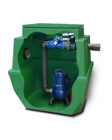Station de relevage Sanirel 503 pompe KSB pour de gros débit ou grande hauteur de relevage