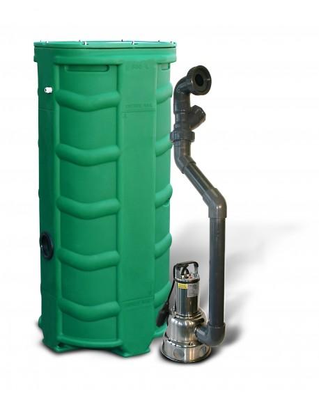 SANIREL 500V POMPE 358 - pour grande profondeur de sortie des evacuations de la maison pompe pour WC