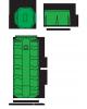 STATION 2 POMPES 500V BARRE DE GUIDAGE H150 414