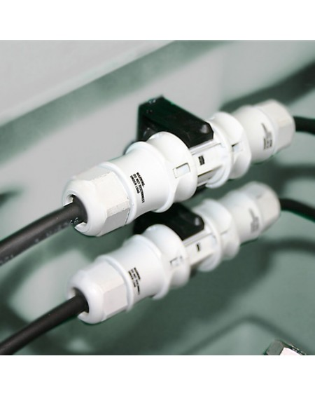 Connecteur étanche IP68 Mono M/F 3 pôles (monté dans la cuve directement en usine)