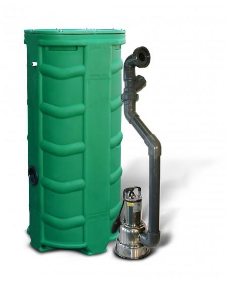 Sanirel 500V - Simple pompe 412 - Eaux chargées - Hauteur max 9 mètres
