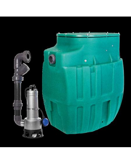 SANIREL 420 - P 408 - 1 POMPE - WC - Haut max 6 mètres