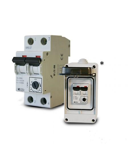 Disjoncteur magneto thermique - 2,5 à 4 Amp.