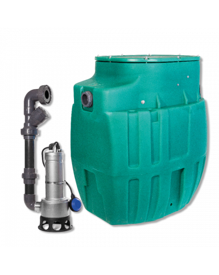 Sanirel 420 - Simple pompe 414 - Eaux chargées