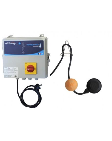 Coffret tranquillité de protection - Simple pompe - kit flotteur d'alarme