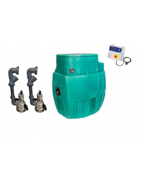 Sanirel 420 - Double pompe 358 - Eaux chargées