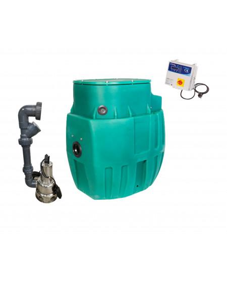Sanirel 420 - Simple pompe 358 - Eaux chargées