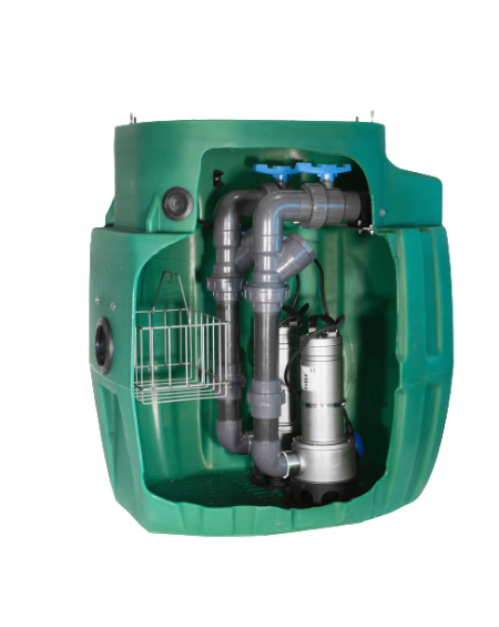 Sanirel 420 - Double pompes auto 408 - Eaux chargées