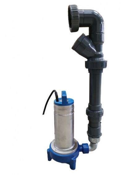 Kit connexion rapide - pompe GRI (broyeuse) pour Sanirel 420